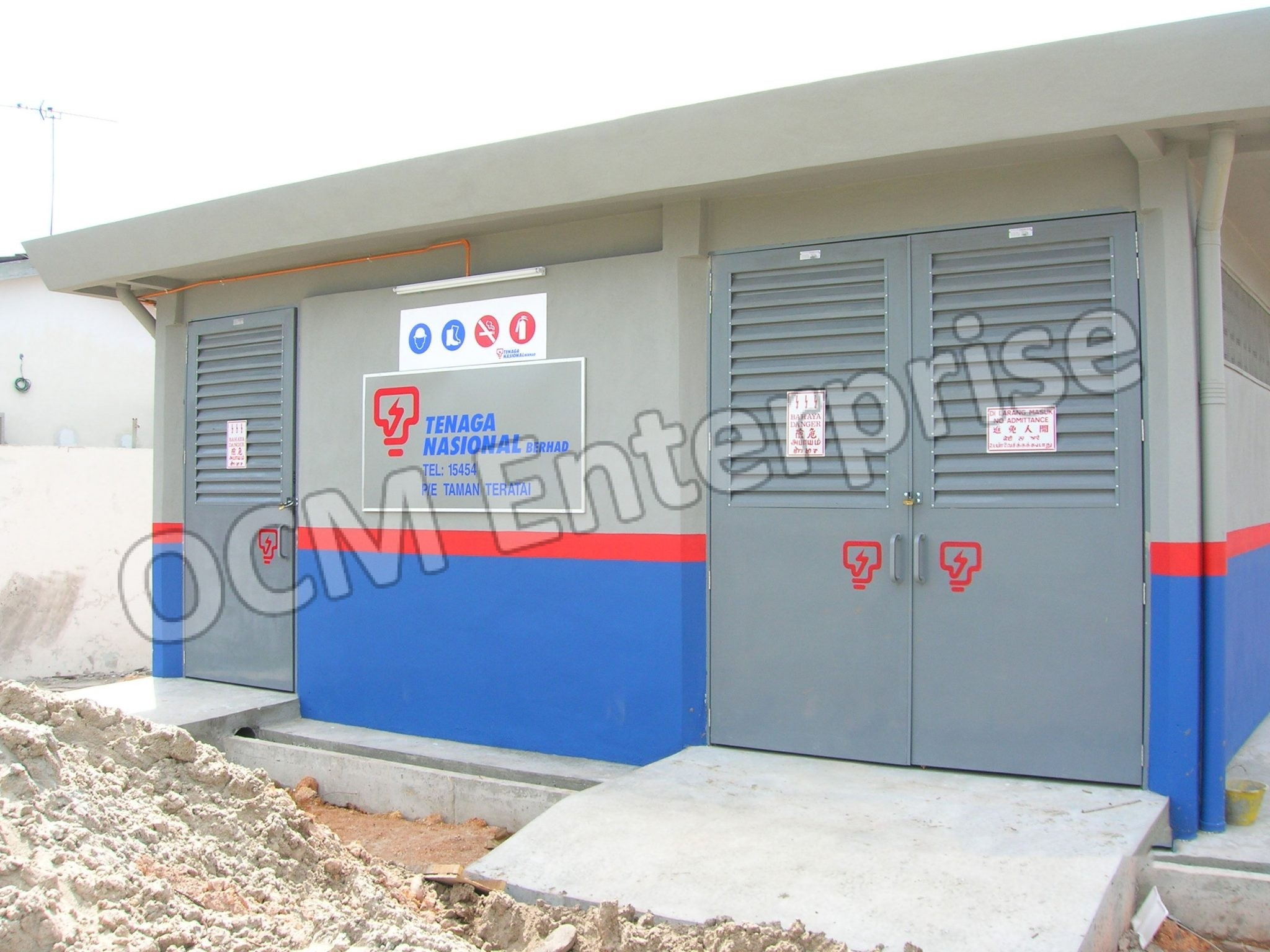 Frp Tnb Door Supplier In Malaysia Ocm Enterprise